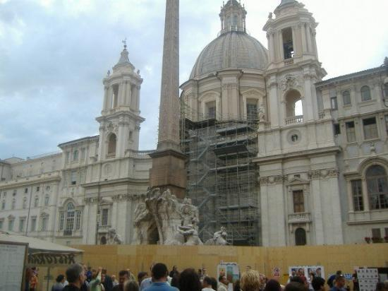 Piazza Navona: Alter of Science #1 - Water.  Fountain of Four Rivers.  Read Angels & Demons to know what I'm ta