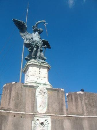 Museo Nazionale di Castel Sant'Angelo: On the terrace of the Castle.