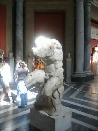 พิพิธภัณฑ์วาติกัน: The torso in which Michaelangelo used on all 20 of the nudes in the Sistine Chapel.