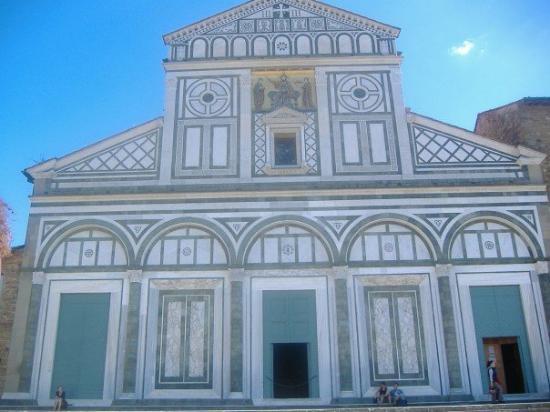 Basilica San Miniato al Monte: Miniato.