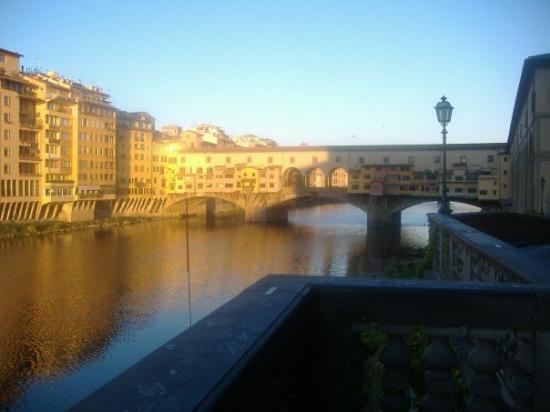 Il Ponte Vecchio.