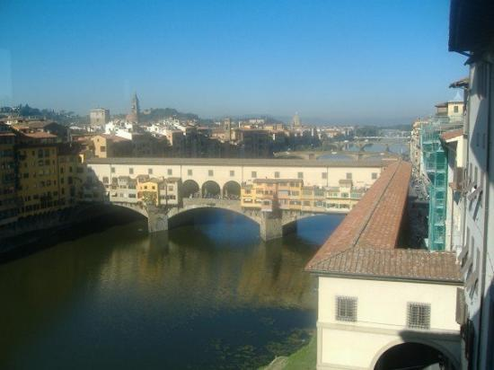 Ponte Vecchio: And again.  It's the oldest bridge in Florence.  They missed bombing it during WWII.  Or somethi