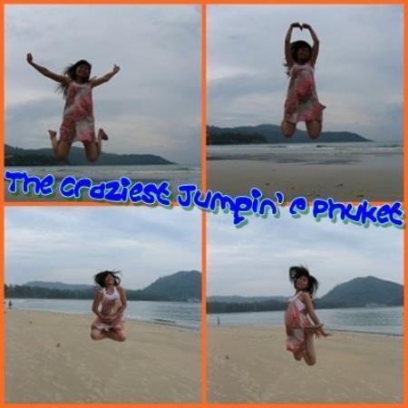 หาดกะรน: Jumpin' jumpin'