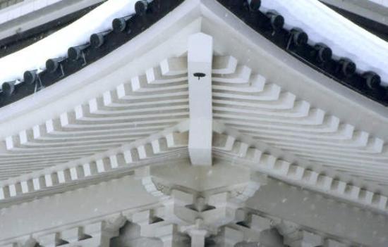Himeji Castle: CASTILLO DE HIMEJI 姫路城 Himeji-jō  Detalle de los tejados.