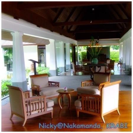 นาคามันดา รีสอร์ท แอนด์ สปา: Nakamanda's Lobby
