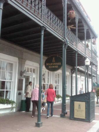 The Marshall House: Marshall House in Savannah, GA