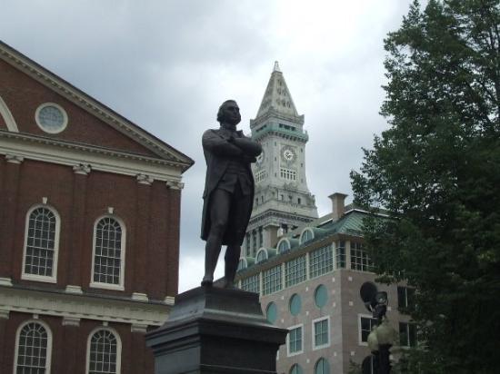 บอสตัน, แมสซาชูเซตส์: That would be Samuel Adams
