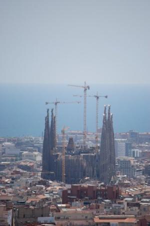 โบสถ์แห่งครอบครัวศักดิ์สิทธิ์: Sagrada Familia en de kraantjes
