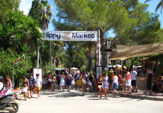 Santa Eulalia del Río, สเปน: Hippi Markkinat - Es Canar