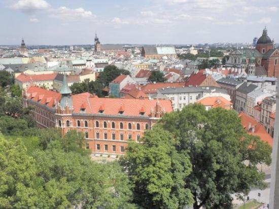 คราคูฟ, โปแลนด์: Cracovia desde la torre de la Catedral