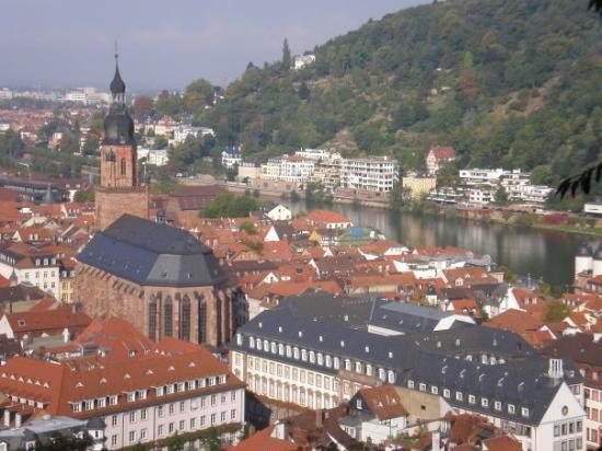 ไฮเดลเบิร์ก, เยอรมนี: Heidelberg desde el castillo