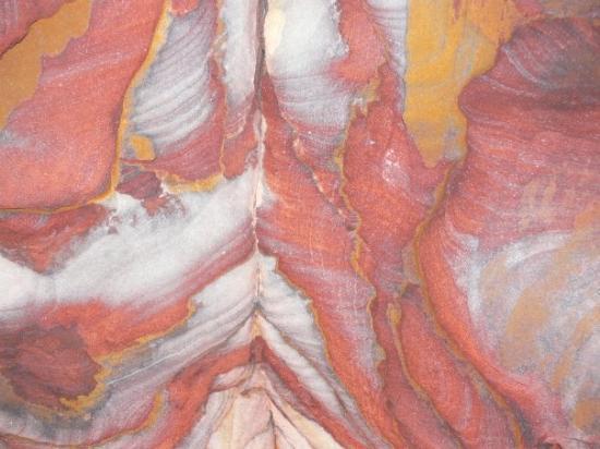 เปตรา/วาดีมูซา, จอร์แดน: cave ceiling