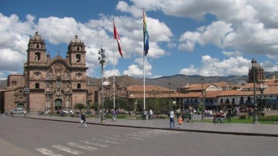 กุสโก, เปรู: Plaza de Armas à Cuzco