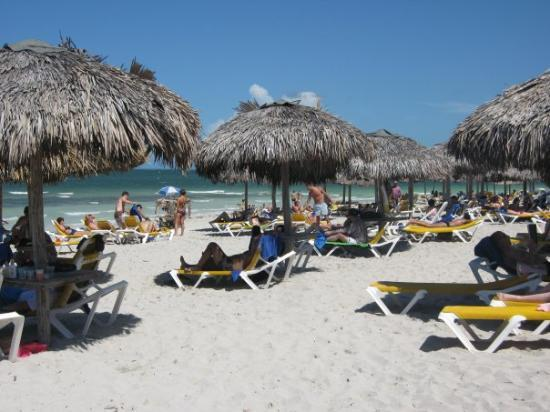 บาราเดโร, คิวบา: The beach at our resort, Iberostar Playa Alameda, Varadero, Cuba (Sep 08).