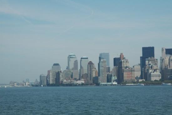 Manhattan Skyline: financial district