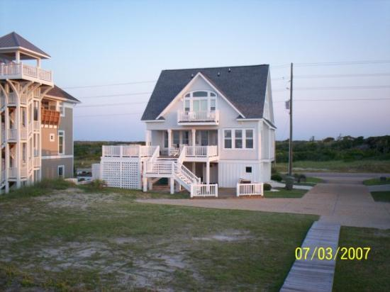 North Topsail Beach, นอร์ทแคโรไลนา: our  house