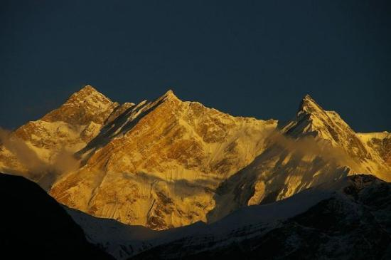 Annapurna Region, เนปาล: What it's supposed to look like with a descent camera!