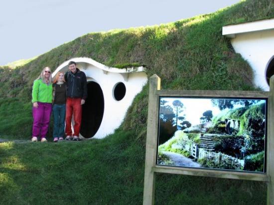 Matamata, นิวซีแลนด์: Hobbiton!!!