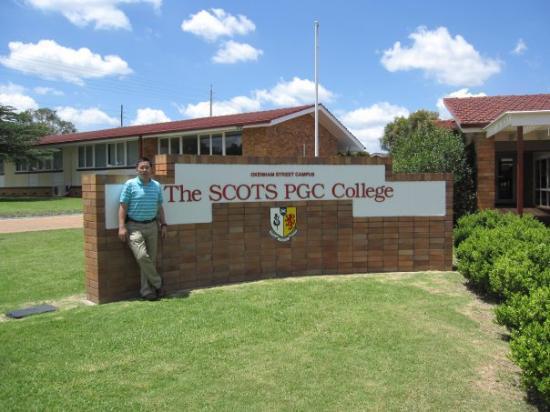 Warwick, Australia: Scots pgc, lovely campus!