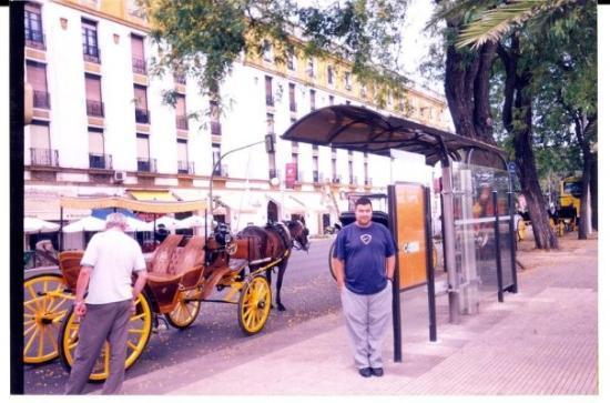 เซบียา, สเปน: Verano 2003.  Terminando el Doctorado en Sevilla.  ¿Podrán haber en mi vida días más felices?
