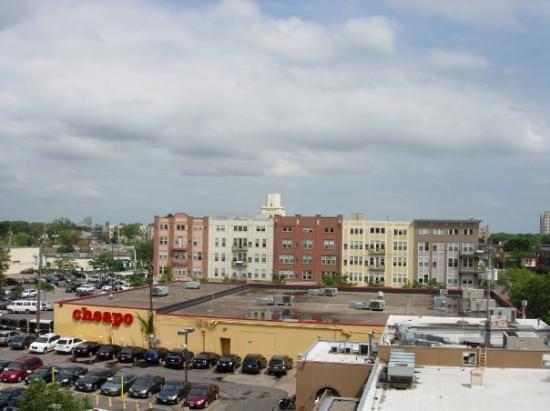 มินนิอาโปลิส, มินนิโซตา: View from rooftop seating at Stella's Fish Restaurant