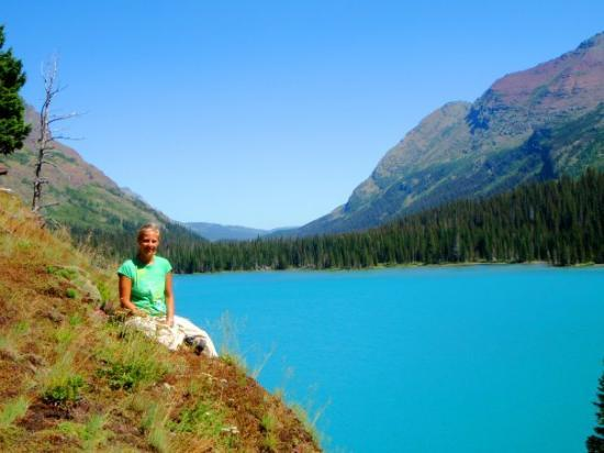 Glacier National Park, มอนแทนา: Grinnel Lake, Glacier NP