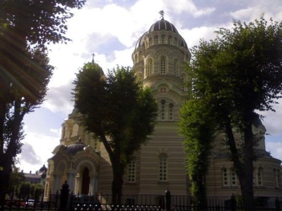 ริกา, ลัตเวีย: Riga - la chiesa russa
