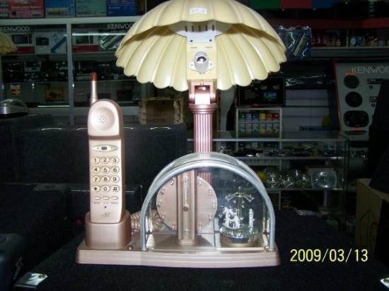 เปโนโนเม, ปานามา: This lamp phone was in one of the shops