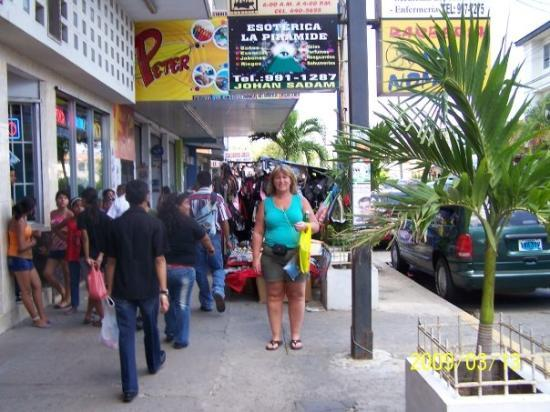 Penonome, Panama: Lots of street vendors