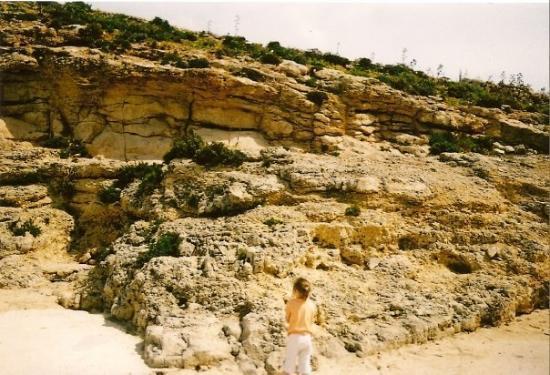 Mellieha, มอลตา: I'll climb dat no probs!!