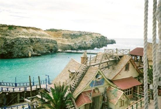 Popeye Village Malta: View from above