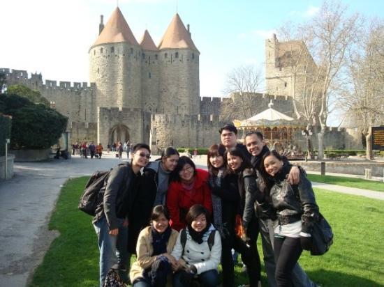 เมืองโบราณการ์กาซอน: Carcassonne Castle, Carcassonne France