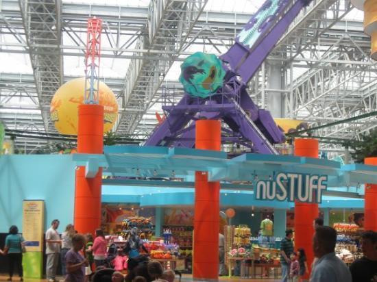 มินนิอาโปลิส, มินนิโซตา: Mall of America theme park.