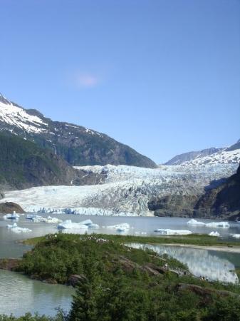 จูโน, อลาสกา: Mendenhall Glacier Juneau, Alaska
