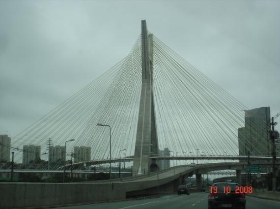 Morumbi District: New Bridge in São Paulo
