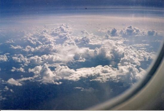 พอร์ตออฟสเปน, ตรินิแดด: I flew American Trans Air with Boeing 757. Only our Tour group on airplane, and we traveled Curi