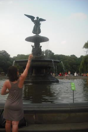 Bethesda Fountain: really hope that one comes true!!!