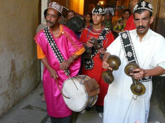 ฟาซ, โมร็อกโก: music in the mazes of Fez el Bali