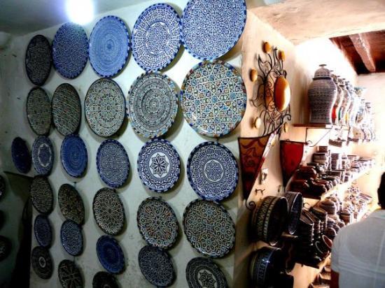 ฟาซ, โมร็อกโก: Wold famous fez pottery