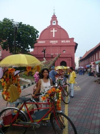 มะละกา, มาเลเซีย: in front of Christ Church, Melaka