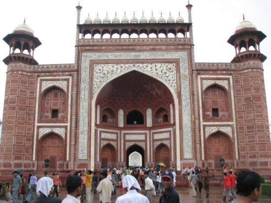 ทัชมาฮาล: Entrance of Taj Mahal