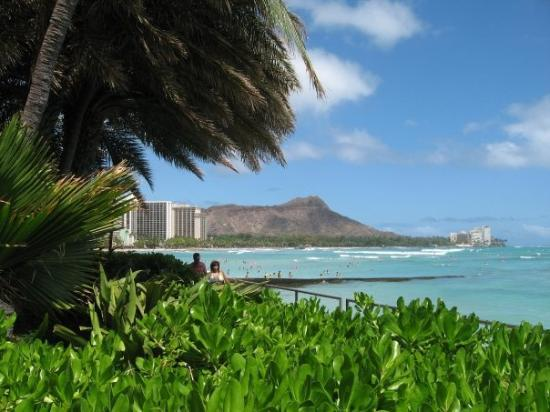ไดมอนด์เฮด: Beautiful Waikiki Beach & Diamond Head
