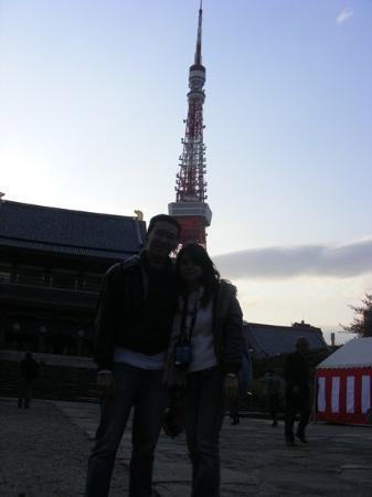 โตเกียวทาวเวอร์ ภาพถ่าย