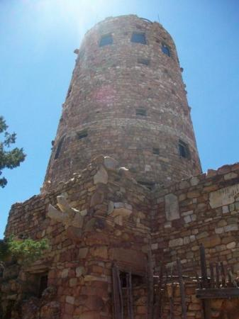 Grand Canyon Desert View Watchtower ภาพถ่าย