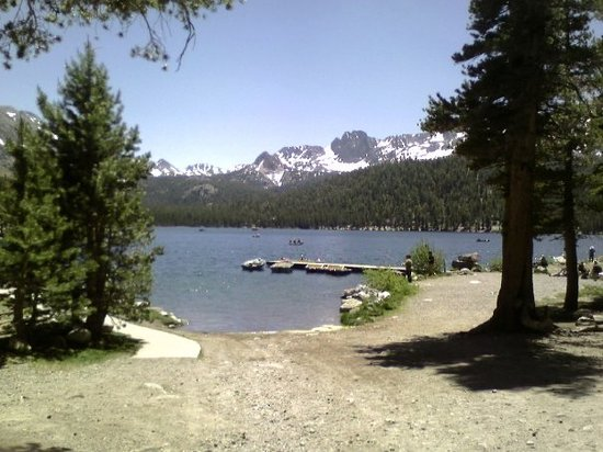 Mammoth Lakes, CA: Lake Mary