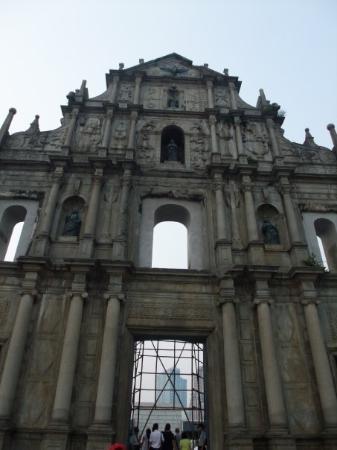 มาเก๊า, จีน: Ruínas da Antiga Catedral de São Paulo