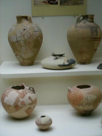 พิพิธภัณฑ์โบราณคดีอิสตันบูล: Pottery from Troy