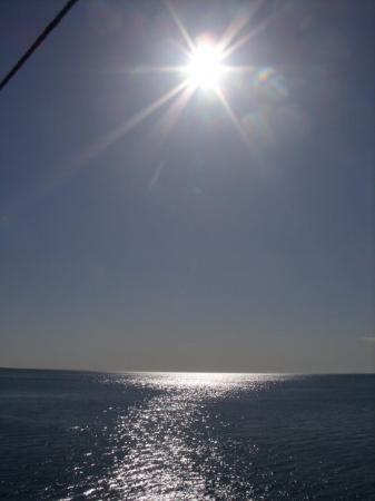 อันตัลยา, ตุรกี: The sea was so blue it was amazing!!!! AQUA BLUE