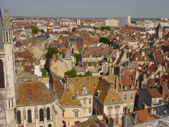 ดีชง, ฝรั่งเศส: Hôtel de Vogüe, proche de Notre-Dame de Dijon, vue de la tour Philippe le Bon