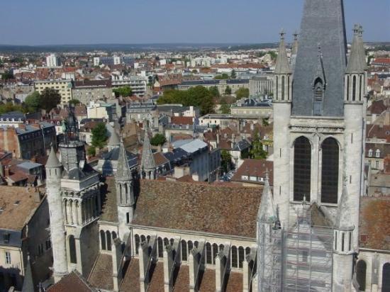 ดีชง, ฝรั่งเศส: Notre-Dame de Dijon, vue de la tour Philippe le Bon
